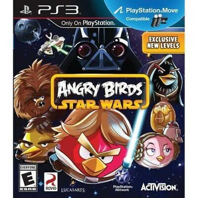 Playstation 3 Ps3 Game Angry Birds Star Wars Brand New & Sealed