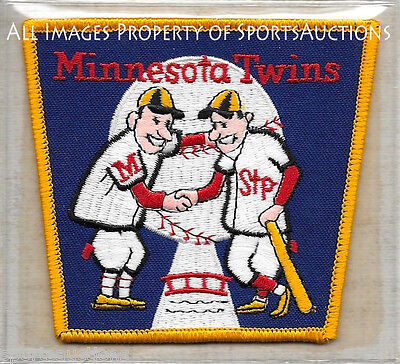 1965 MINNESOTA TWINS ~ Willabee &  Ward COOPERSTOWN COLLECTION TEAM PATCH ~ NEW