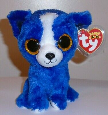 Ty Beanie Boos - T-BONE the Dog - GIFT SHOW EXCLUSIVE - MINT with MINT TAGS