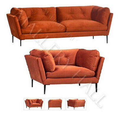 Off White Upholstered L Shaped Sofa French Style