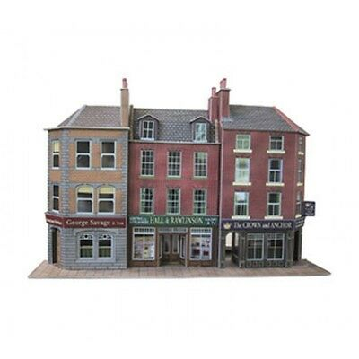 Metcalfe Card Kit Oo Po205 Low Relief Pub And Shops Metp0205