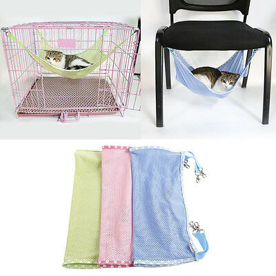 Cat Bed Mat For Summer Ventilation Net Cloth Pet Cages Hammock Under The Chair