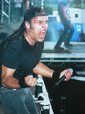 Blaze Bayley - Magazine Cutting (Full Page Photo) (Ref F1)