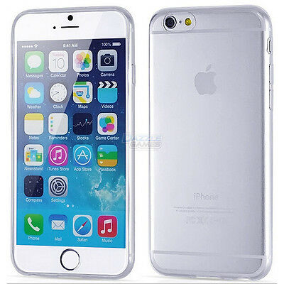 Ultra Thin Soft TPU Transparent Clear Skin Case Cover for iPhone 6S 4.7 Plus 5.5