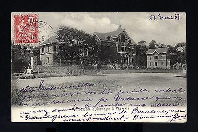 5201-TURKEY-LEVANT-OLD POSTCARD COSTANTINOPLE to CORDESSE (france)1907.Turquie.