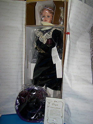 """Exclusively Yours Jan McLean MARIA 31"""" Porcelain  DOLL Ltd. Ed  0319/500 NRFB"""