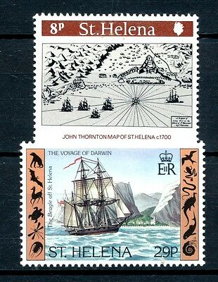 "No: 41772 - ST. HELENA - ""SHIPS"" - LOT OF 2 STAMPS - MNH!!"