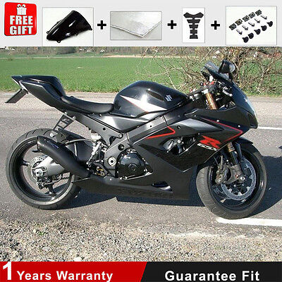 Fairing 05 06 for Suzuki GSXR 1000 K5 K6 Injection Mold Plactic Black Bodywork
