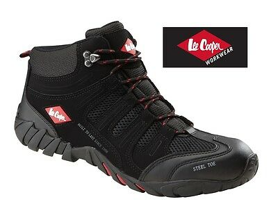 New Mens Lee Cooper Steel Toe Cap Safety Boots Trainers Workwear LC020 UK 6-12