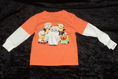 Halloween Trick or Treat Minions Infant/Toddler T-Shirt (AVAILABLE 12 Mo - 5T)