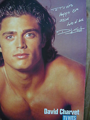 David Charvet (Baywatch) - Magazine Cutting (Full Page Photo) (Ref J)