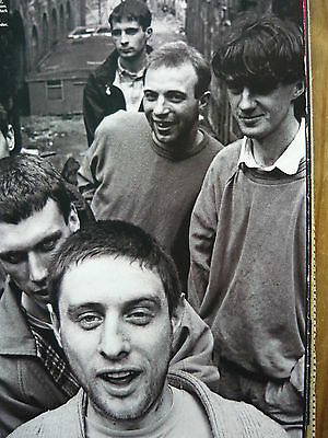 Happy Mondays - Magazine Cutting (Full Page Photo) (Ref Jb4)