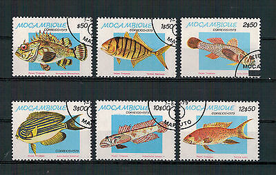 Mocambique, Fische | Fish | Poissons MiNr. 706 - 711, 1979 used, gestempelt