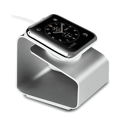 Mode Metal Aluminium Charging Dock Ladegerät Stand for Apple Watch 38 & 42mm