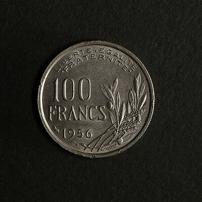 1956 - France 100 Francs KM 919.1 Great Deals From The TECC Bargain Bin