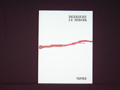 Art Catalogue-DLM 180-ANTONI TAPIES-LITHOGRAPH-Derriere le Miroir-1969
