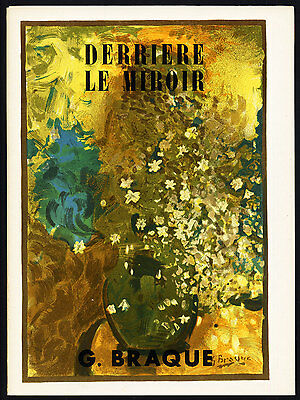Art Catalogue-DLM 48-49-GEORGE BRACQUE-LITHOGRAPHS-Derriere le Miroir-1952