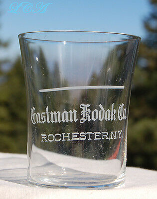 Excellent ANTIQUE photo chemical glass EASTMAN KODAK Co. ROCHESTER N.Y. nice!