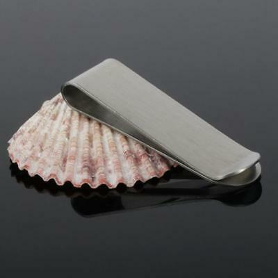 New Stainless Steel Slim Money Clip Purse Wallet Credit Card ID Cash Holder