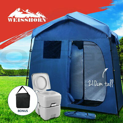 Weisshorn 4 Person Family Camping Tents Cabin Canvas Swag Hiking Beach