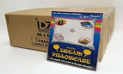 Wholesale Box Of 48 - Novelty Dream Pillowcases - Love Money Paradise Supercars