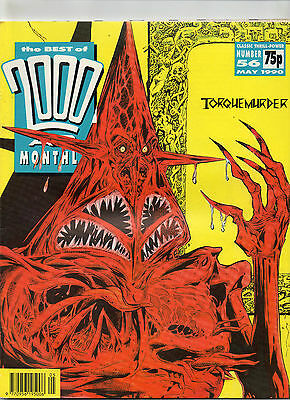 2000 Ad Monthly Jan.1990, May 1990 & Nov 1991.