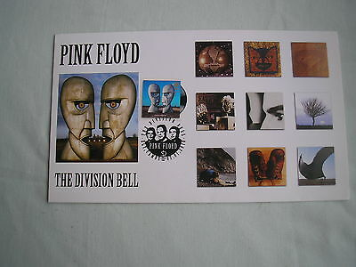 PINK FLOYD The Division Bell FIRST DAY COVER numbered officially licensed