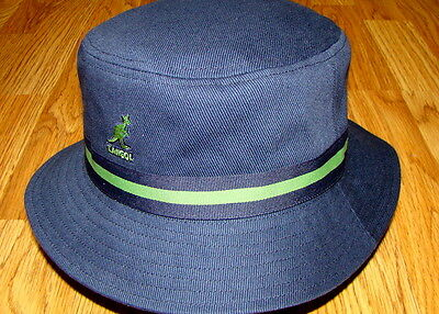 KANGOL HEADWEAR Mens Stripe LaHinch Bucket Hat Color Navy -  34.00 ... 3edc6d6a2896