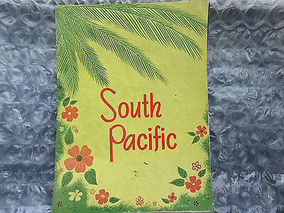 Old Souvenir Book for the Musical Play South Pacific Rodgers & Hammerstein