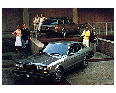 1980 Datsun 810 Factory Photo ca2949