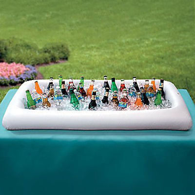 Portable Inflatable Salad Serving Bar Buffet Ice Cooler Outdoor Picnic For Party