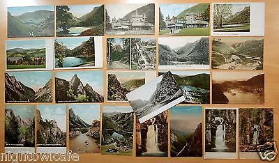 Lot of 24 Antique Postcards ALL DIXVILLE NOTCH, NH New Hampshire 9 UDB