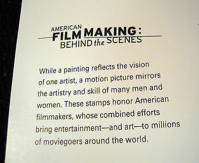 #3772, American Film Making, 2003, Movies, Pane Of 10-37 Cent Stamps, Cv $17.00