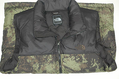 the north face mens nuptse down vest 700 fill pockets black ink green large