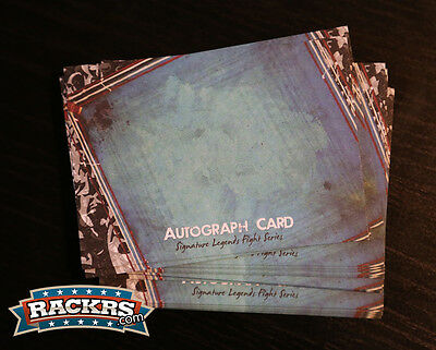 Rackrs Blank Autograph Signature Boxing Cards - 25 Cards