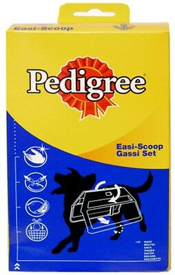 Pedigree Dog Puppy Poo Poop Waste Bags Easi Scoop and Refill Poop Bags 50 Pack