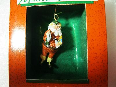 1988 Hallmark Miniature Mini JOLLY ST. NICK