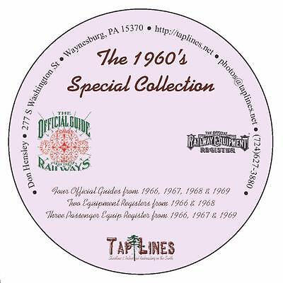 The 1960's Special Collection of Official Guides & Equipment Registers on DVD