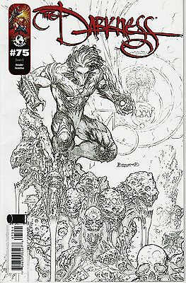 The Darkness No.75 / 2009 Sketch Variant Cover