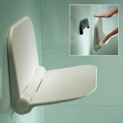 Folding Shower Seat By Roper Rhodes Wall Mounted In White
