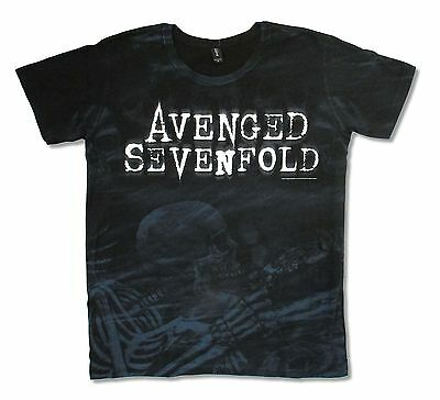 Avenged Sevenfold Nightmare All Over Print Black T-Shirt New Official A7X