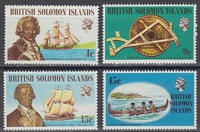 Solomon Islands 1972 ** Mi.215/18 Schiffe Ships [sq6096]