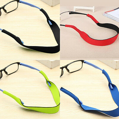 2PCS  Glasses Strap Neck Cord Sports String Outdoor Sunglasses Rope Band Holder