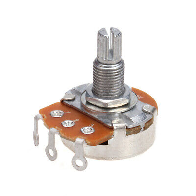A 500K OHM Guitar Audio Volume Potentiometer Variable Resistor Linear Switch Pot