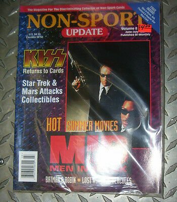 NON-SPORT UPDATE VOL 08 NO 3 JUN 1997 - JULY 1997 Men In Black