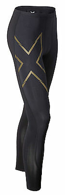 2XU Elite MCS Compression Long Tight Herren Schwarz/Gold MA3062b