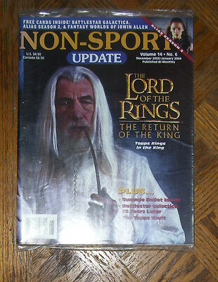 NON-SPORT UPDATE VOL 14 NO 6  DEC 2003 -JAN 2004 Lord of Rings, Return of King