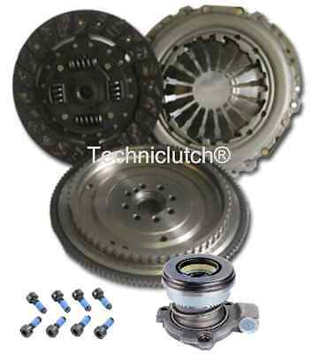 Dual Mass To Single Flywheel, Clutch Kit And Csc For Opel Combo Box 1.3 Cdti