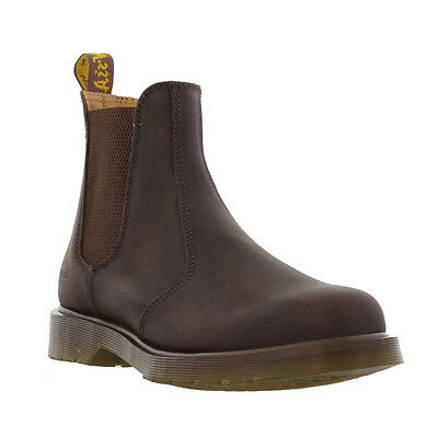 DR Martens 2976 Mens Womens Brown Leather Chelsea Ankle Boots Size 4-13