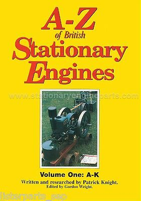 The A-Z Of British Stationary Engines Book, Volume Two L to Z By Patrick Knight